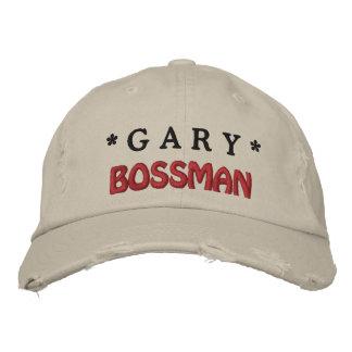Gorra divertido de BOSS Bossman con el nombre de Gorra De Béisbol Bordada