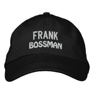 Gorra divertido de BOSS Bossman con el nombre de Gorras Bordadas