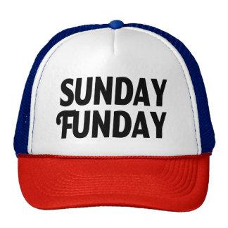 Gorra divertido de domingo Funday