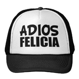 Gorra divertido de Felicia del adiós de Felicia
