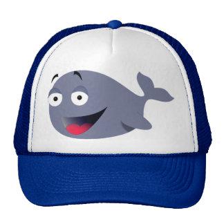 Gorra divertido de la ballena