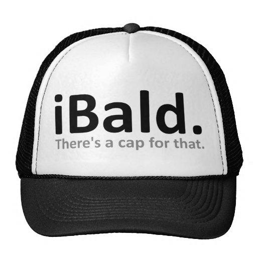 gorra divertido de la gorra de béisbol del iBald