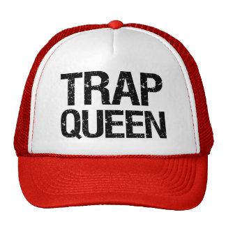 Gorra divertido de la reina de la trampa