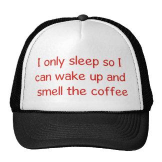 Gorra divertido del amante del café