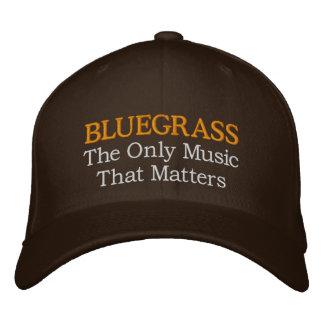 Gorra divertido del Bluegrass del bordado Gorra De Beisbol