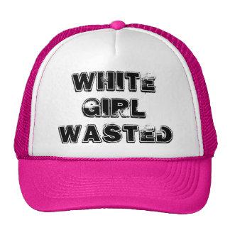 Gorra divertido perdido chica blanco del camionero