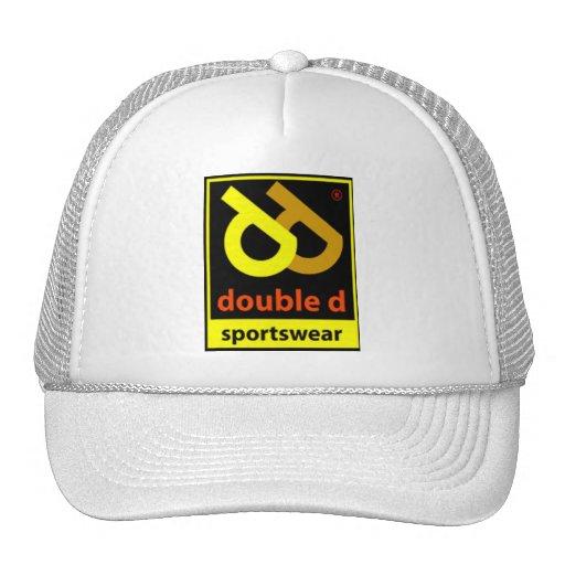 Gorra doble del logotipo de la ropa de deportes de