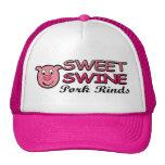 Gorra dulce del camionero de las cortezas del cerd