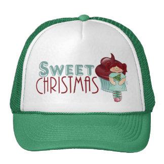 Gorra dulce del navidad