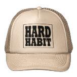Gorra duro del hábito