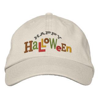 Gorra ecléctico del bordado de Halloween del feliz Gorro Bordado