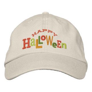 Gorra ecléctico del bordado de Halloween del feliz Gorras Bordadas