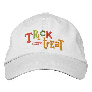 Gorra ecléctico del bordado de Halloween del TRUCO Gorra De Beisbol Bordada