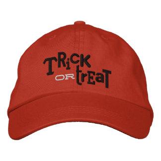 Gorra ecléctico del bordado de Halloween del TRUCO Gorra De Béisbol