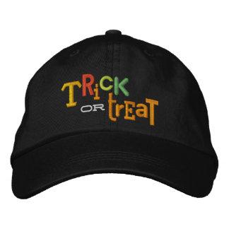 Gorra ecléctico del bordado de Halloween del TRUCO Gorros Bordados
