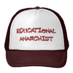 gorra educativo del anarquista