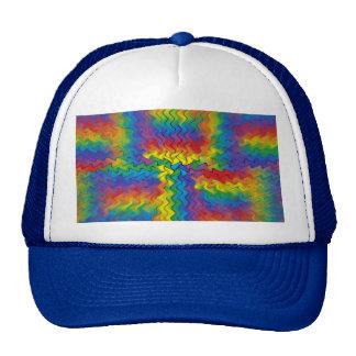 Gorra electrificado del arco iris
