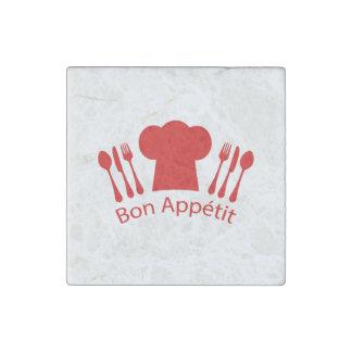 Gorra elegante del cocinero de Appetit del Bon Imán De Piedra