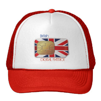 Gorra elegante del patriota de Digitaces Gran
