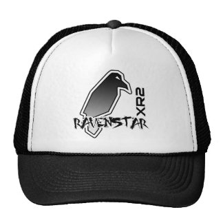 Gorra encaramado XR2 del logotipo del cuervo
