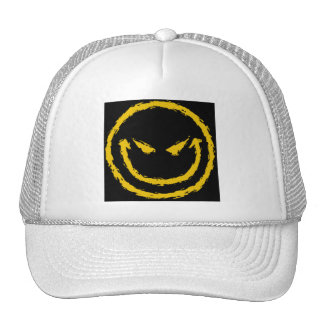 Gorra enojado de la cara