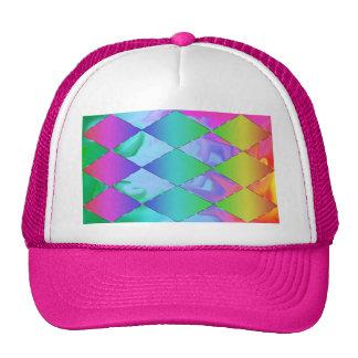 Gorra enrrollado del arco iris