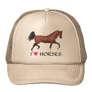 Gorra equino del potro del arte de los caballos