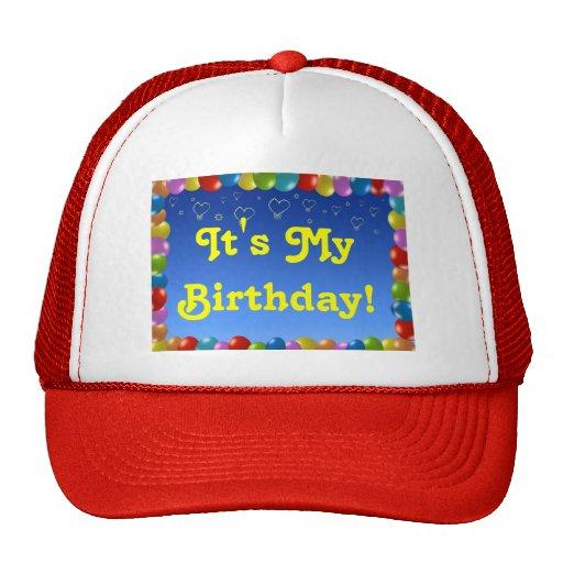 Gorra es mi cumpleaños