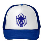 Gorra espeso de SMSgt de la fuerza aérea