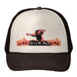 gorra esquelético de la bailarina