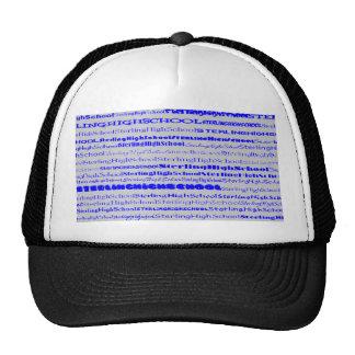 Gorra esterlina del diseño I del texto de la High