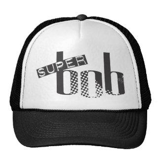 Gorra estupendo del camionero del logotipo de la s