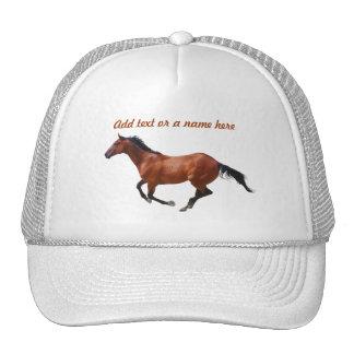 Gorra excelente del galope