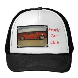 Gorra exótico del club del coche