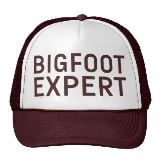 Gorra EXPERTO del lema de BIGFOOT