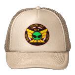 Gorra extranjero verde del área 51