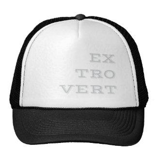 Gorra extroverso gris