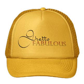 Gorra fabuloso del oro del ghetto