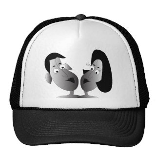gorra feliz de los pares