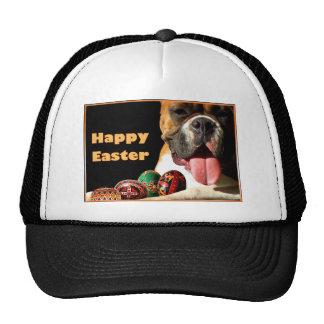 Gorra feliz del boxeador de Pascua