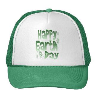 Gorra feliz del Día de la Tierra