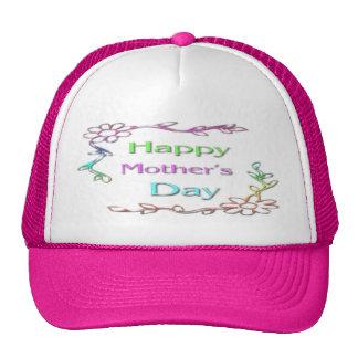 Gorra feliz del día de madre