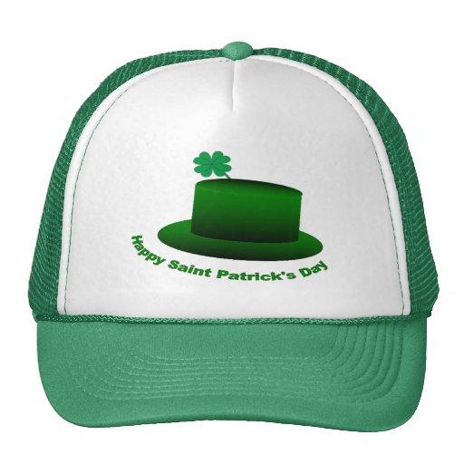 Gorra feliz del día de Patricks del santo