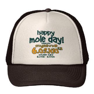Gorra feliz del día del topo