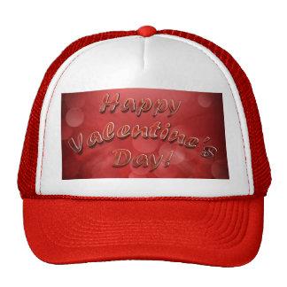 Gorra feliz del el día de San Valentín