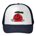 Gorra feliz del ornamento