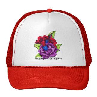 Gorra femenino de los rosas del maquillaje del chi