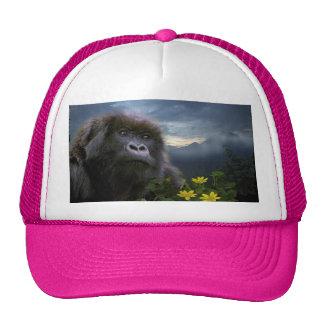 Gorra femenino del camionero del arte de la fauna