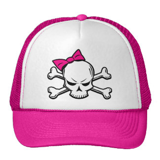 Gorra femenino del cráneo del gótico