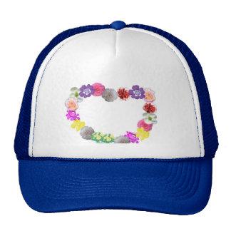 gorra florecido
